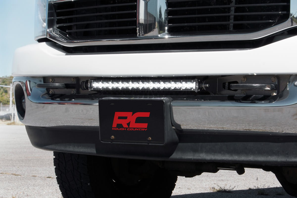 Dodge 20-inch LED Light Bar Hidden Bumper Mounts (03-18 Ram 2500/3500) 70568