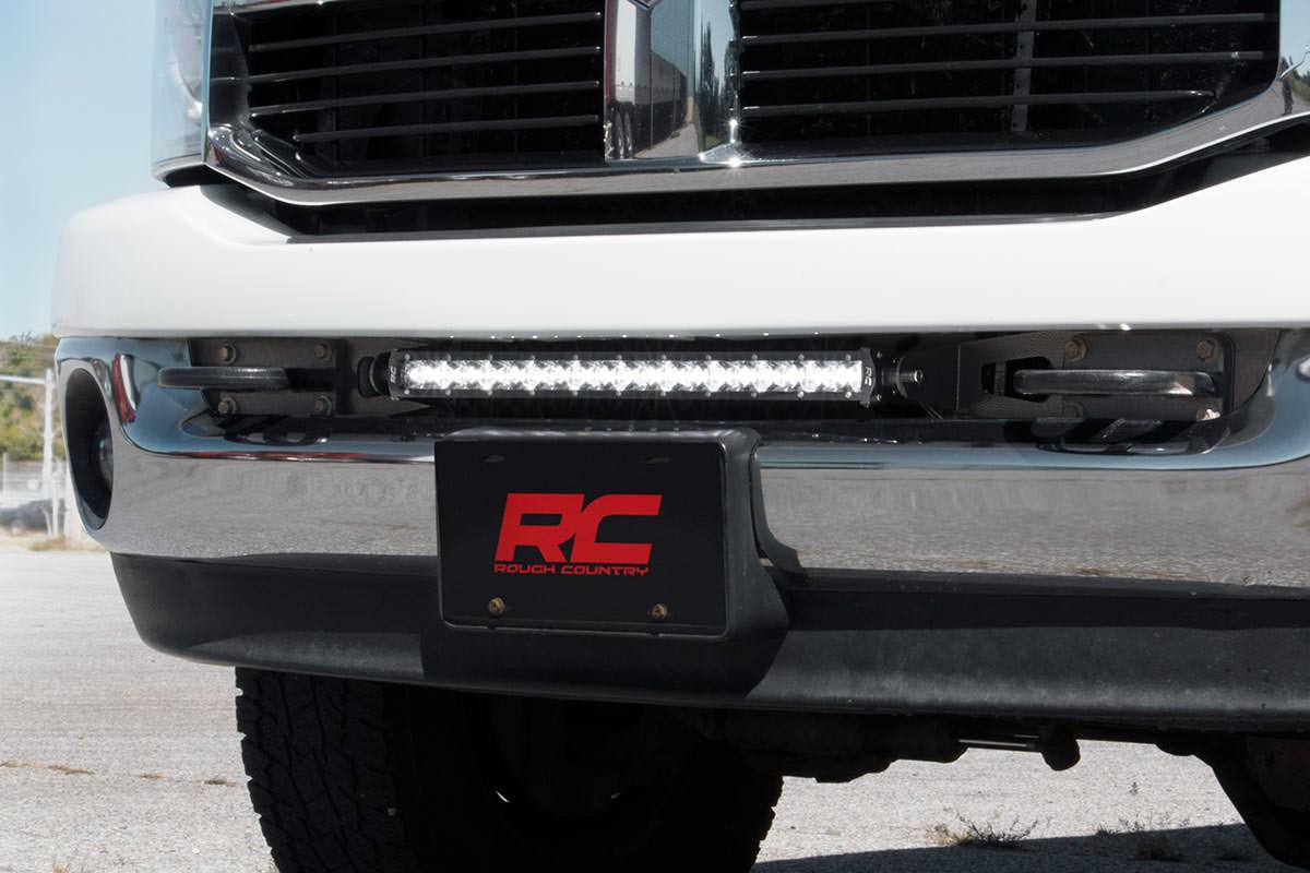 Dodge 20 Inch Led Light Bar Hidden Bumper Mounts 03 18 Ram 2500 Wiring Harness Roof 3500 70568