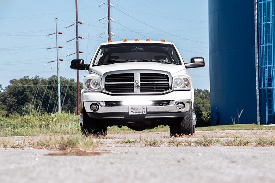 Dodge 20 inch led light bar hidden bumper mounts 03 18 ram 2500 dodge 20 inch led light bar aloadofball Choice Image